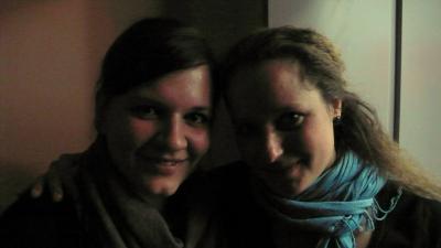 Daniela und Freundin